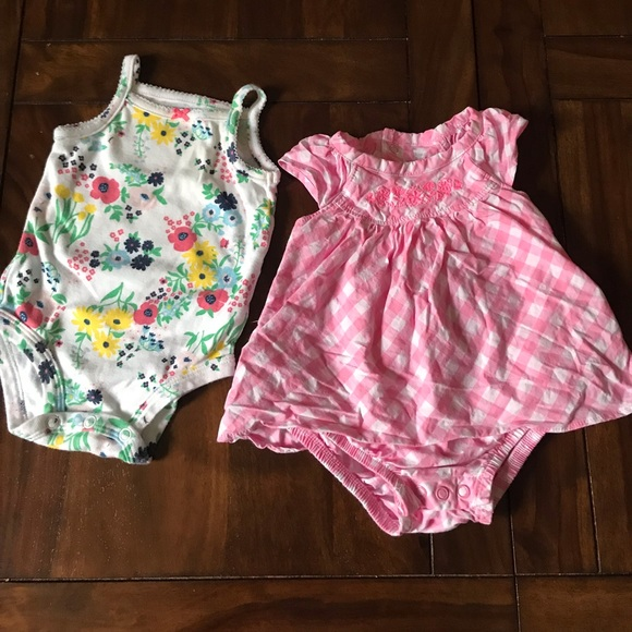 Carter S One Pieces Carters Baby Clothes Size 3 Months Poshmark